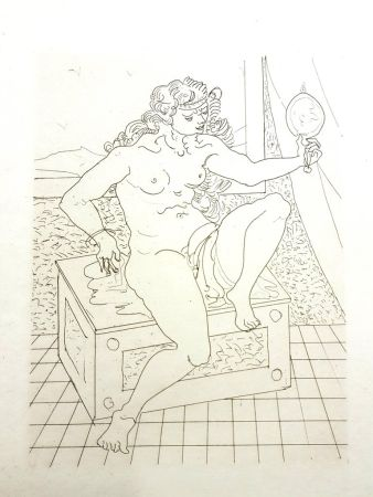 Lithographie Beaudin - Untitled