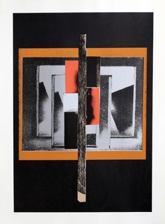 Sérigraphie Nevelson - Untitled