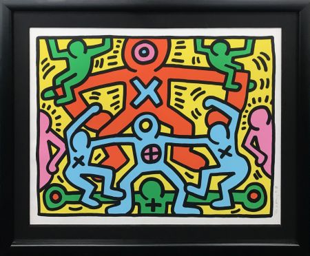 Sérigraphie Haring - UNTITLED