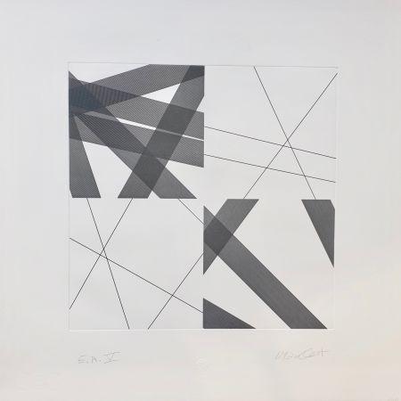 Gravure Morellet - Untitled