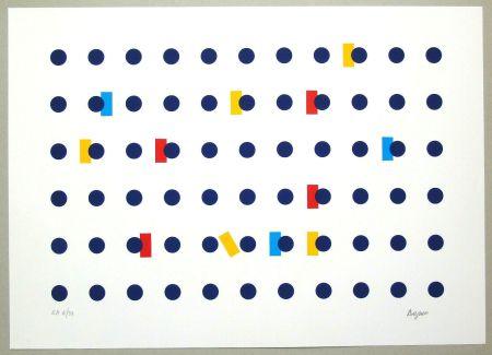 Sérigraphie Agam - Untitled