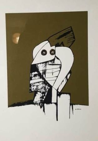 Lithographie Dova - UNTITLED