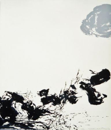Sérigraphie Zao - Untitled