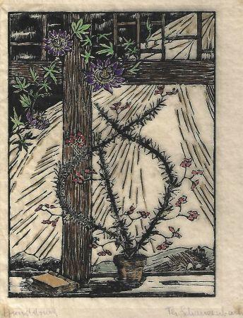 Gravure Sur Bois Schanzenbach - Untitled
