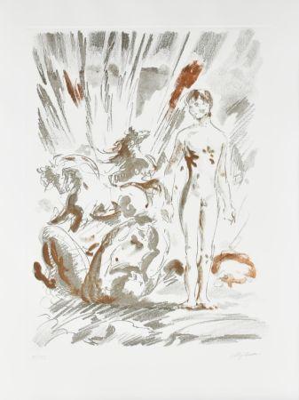 Eau-Forte Et Aquatinte Sassu - Untitled