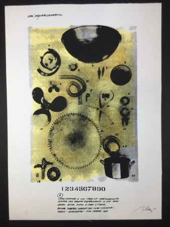 Lithographie Plessi - Untitled