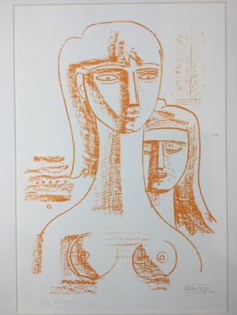 Lithographie Tozzi - Untitled