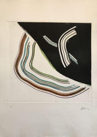 Eau-Forte Et Aquatinte Frattini - Untitled