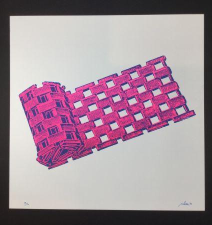 Sérigraphie Plessi - Untitled