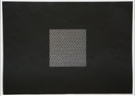 Sérigraphie Morellet - Untitled