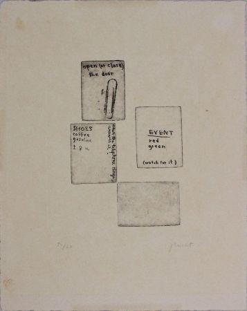 Eau-Forte Brecht - Untitled