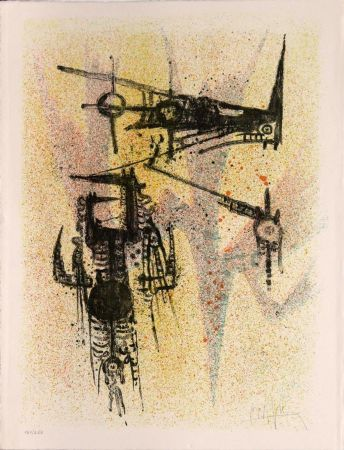 Lithographie Lam - Untitled