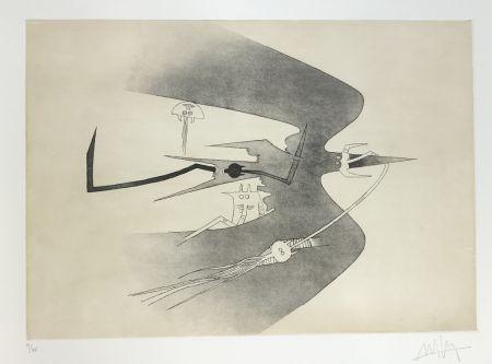 Eau-Forte Et Aquatinte Lam - Untitled