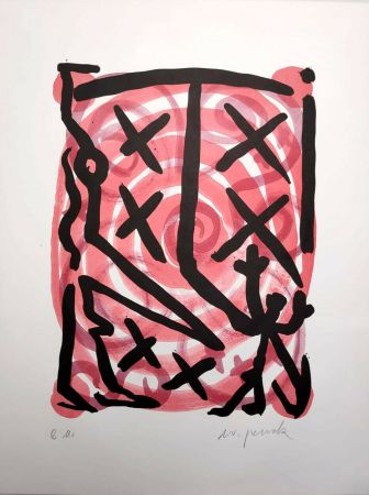 Lithographie Penck - Untitled