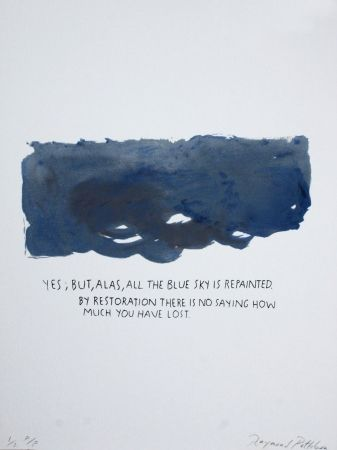Sérigraphie Pettibon - Untitled-Yes But Alas