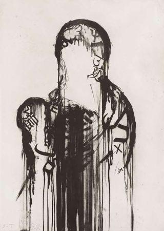 Gravure Plensa - Untitled #1