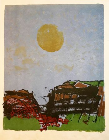 Lithographie Guiramand - Untitled 12