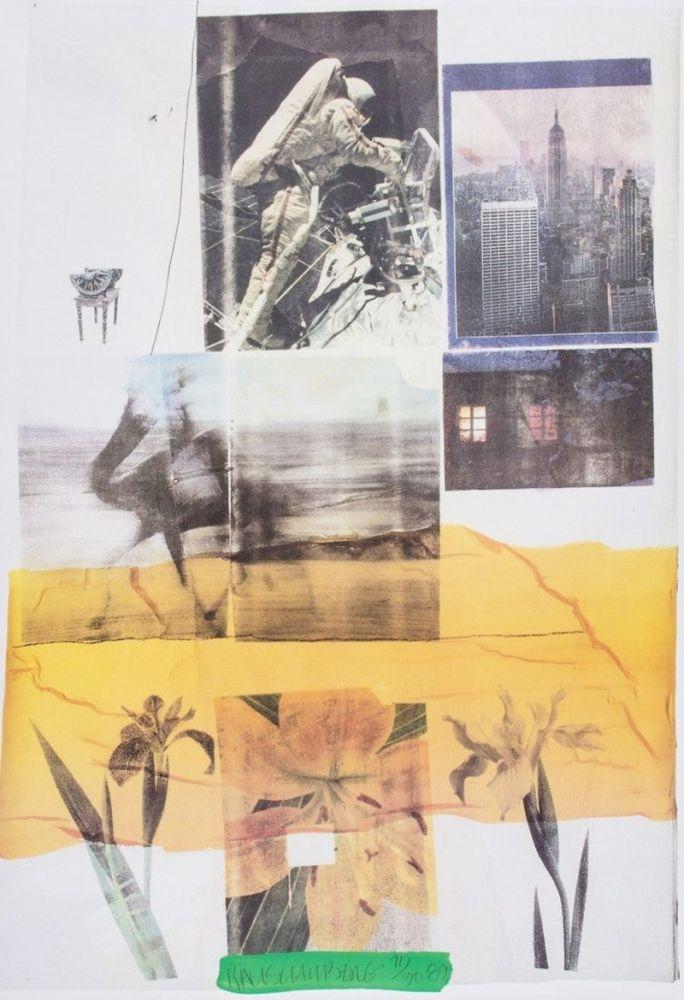 Sérigraphie Rauschenberg - Untitled, 1989