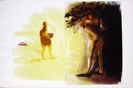 Aquatinte Fischl - Untitled (1990)