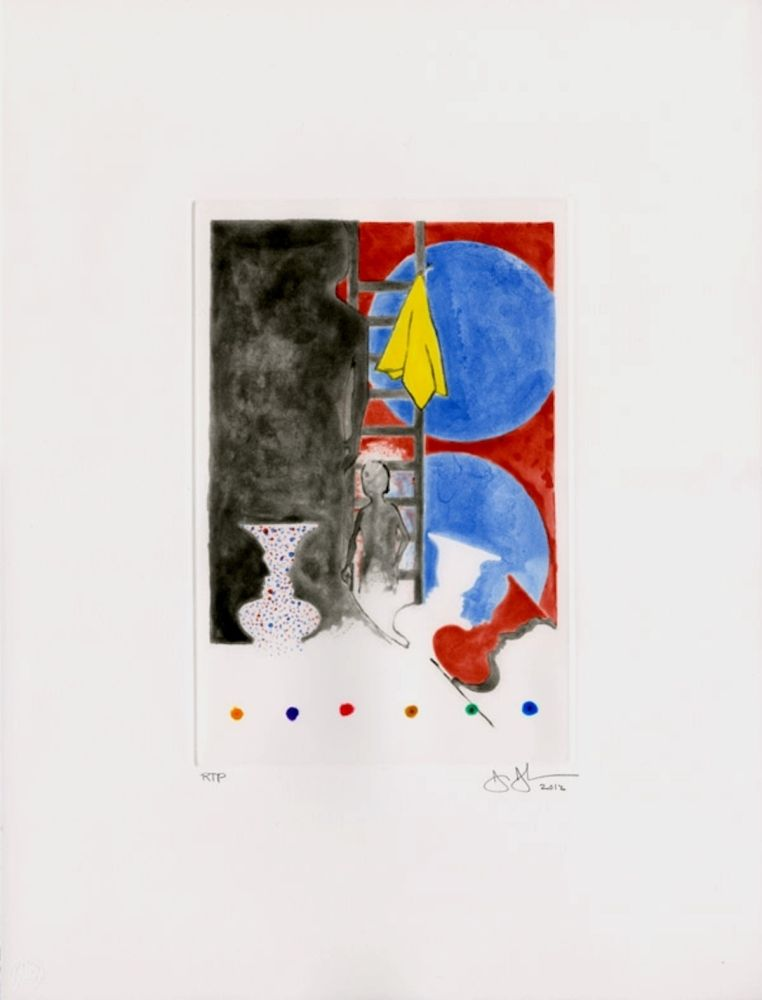 Aquatinte Johns - Untitled (2012)