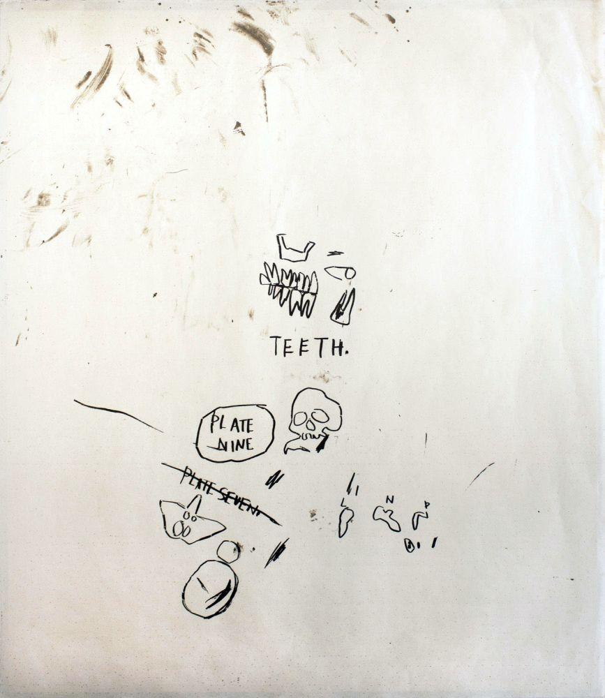 Sérigraphie Basquiat - Untitled 3 (from Leonardo)