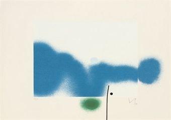 Sérigraphie Pasmore - Untitled 7