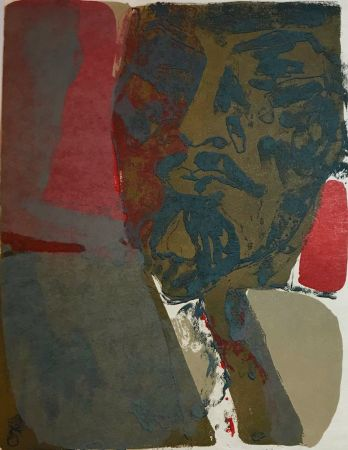 Lithographie Guiramand - Untitled 8