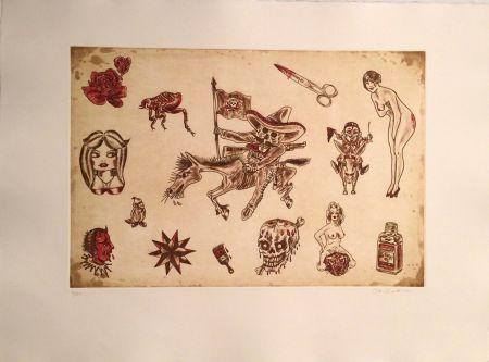 Gravure Lakra (Dr.) - Untitled, #9