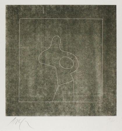 Gravure Sur Bois Arp - Untitled (Abstraction)