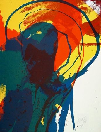 Lithographie Jenkins - Untitled abstraction