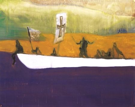 Aquatinte Doig - Untitled (Canoe)