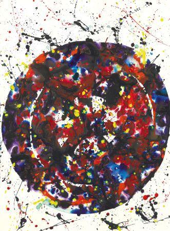 Aucune Technique Francis - Untitled (Composition) 1976: Acrylic Painting