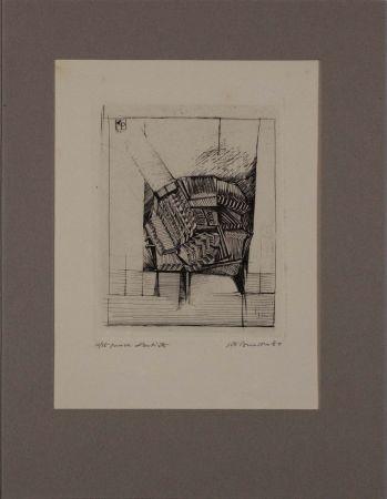 Eau-Forte Pomodoro - Untitled from 'Avanguardia internazionale', vol. 4