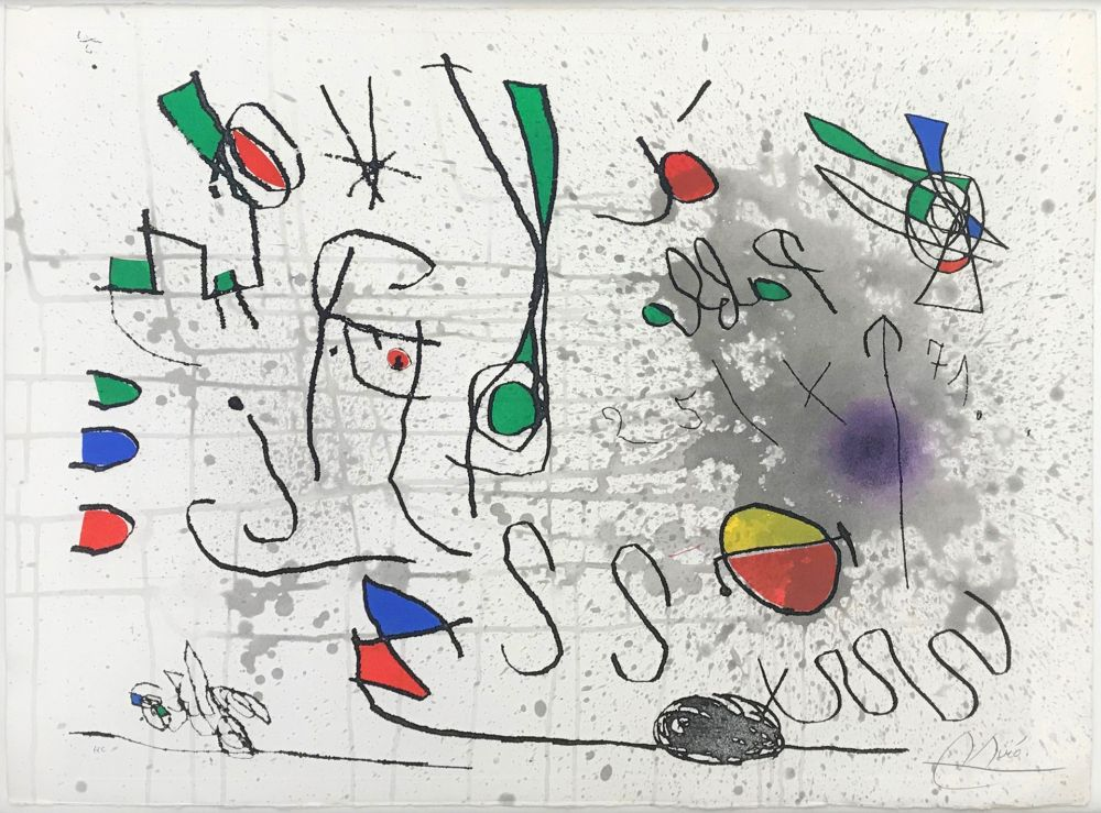 Eau-Forte Et Aquatinte Miró - UNTITLED (FROM HOMAGE TO PICASSO)