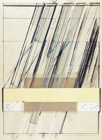 Lithographie Twombly - Untitled (from Hommage a Picasso)