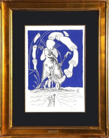 Lithographie Dali - Untitled from Les Songes Drolatiques de Panatagruel