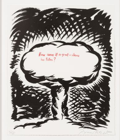 Lithographie Pettibon - Untitled, from Plots on Loan I