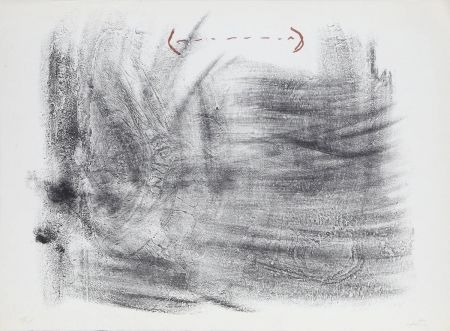 Lithographie Tàpies - Untitled from St. Gallen