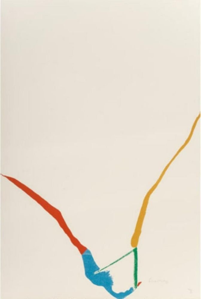 Multiple Frankenthaler - Untitled from ''What red lines can do''