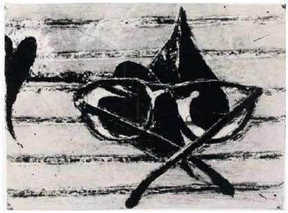 Lithographie Diebenkorn - Untitled (Gemini 1452), 1990