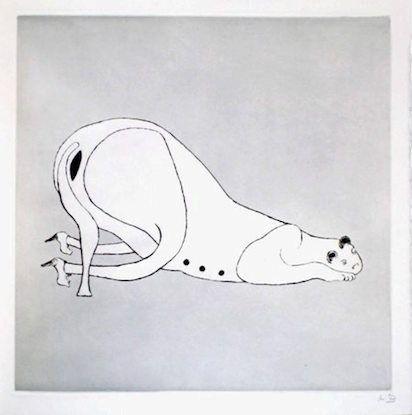 Gravure Bourgeois - Untitled I