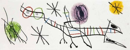 Gravure Miró - Untitled Ii