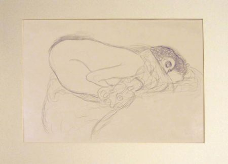 Lithographie Klimt - Untitled III