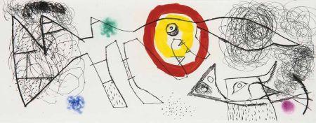 Gravure Miró - Untitled Iii