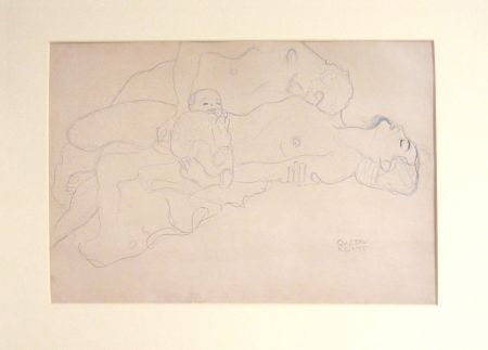 Lithographie Klimt - Untitled I.IV