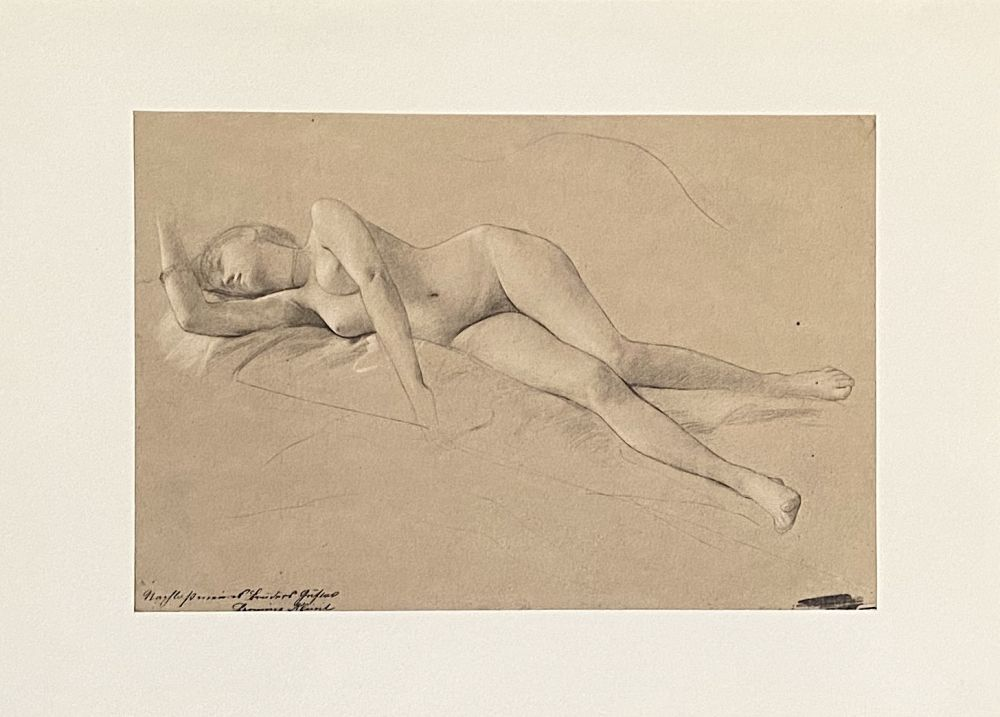Lithographie Klimt - Untitled II.XIII