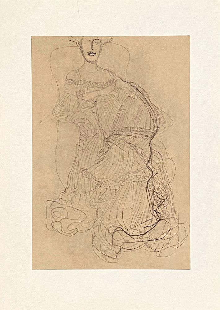 Lithographie Klimt - Untitled II.XIV
