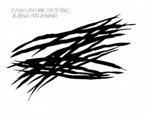 Multiple Pettibon - Untitled, It might easily -be drawn into drawings