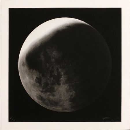 Multiple Longo - Untitled (Moon in Shadow)