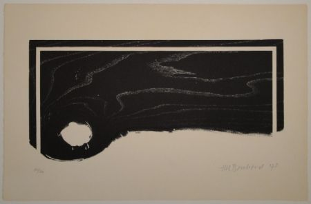 Gravure Sur Bois Bosshard - Untitled (Palette)